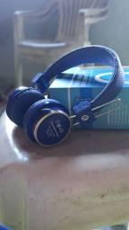 Fone Bluetooth Inova Azul.