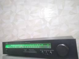 Título do anúncio: Sintonizador De FM Tuner Yamaha Japones Impecavel Funcionando