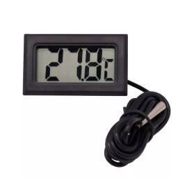 Termômetro digital com sonda aquarios freezeres geladeira