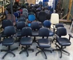 Cadeiras De Escritório Vários Modelos (Aceitamos Cartão)