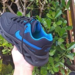 Tênis da nike Air Max azul/preto