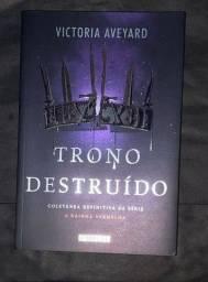 Título do anúncio: Livro Trono Destruído Saga A Rainha Vermelha