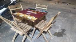 Título do anúncio: Conjunto de mesa e 4 cadeiras