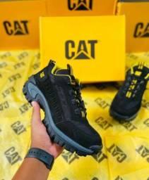 Promoção bota caterpillar lançamento cano curto ( 190 com entrega)