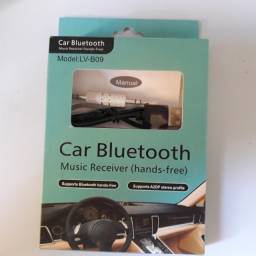 Receptor Bluetooth P2 Auxilar p/ Carro/caixa de Som Estéreo Sem Fio