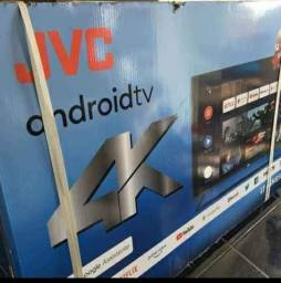 SMART TV ANDROID 50 POLEGADAS COMPLETA NA CAIXA COM TODOS ACESSÓRIOS TV NOVA