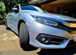 Honda Civict Touring 1.5 turbo 2017 impecavel Único dono