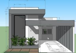 Casa no bairro Santa Rosa 800 mtros do shop estação