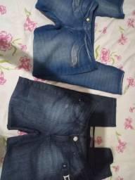 As duas calças jeans , absoluta eD. Viller,t t.42