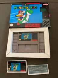 Super Mario World Original com caixa. Super Nintendo