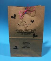 Personalize sua sacola de papel