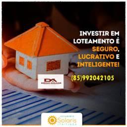 Título do anúncio: Loteamento Solares== realize seu sonho com preços baixos !