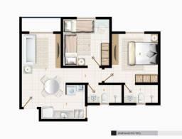 Título do anúncio: Apartamento com 2 quartos - Barra Nova