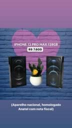 IPHONE 12 PRO MAX 128GB - ANATEL COM NOTA - PROMOÇÃO