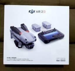 Título do anúncio: DRONE DJI AIR 2S FLY MORE COMBO VERSÃO COM SMART CONTROLLER LACRADO À PRONTA ENTREGA