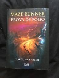 Título do anúncio: Livro Maze Runner-prova de fogo
