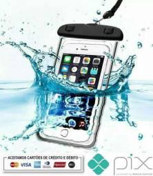 Capa Bolsa Smartphone Impermeável