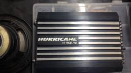 Modulo hurricane 400rms 4 canais 300,00