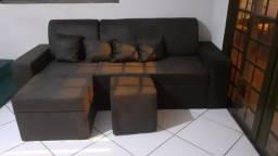 Sofá chaise direto da fábrica