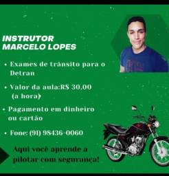 Instrutor de moto