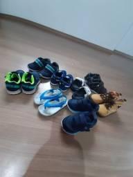Vendo lote de calçados para menino