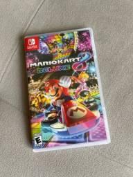 Mario Kart 8 Deluxe - Jogo Físico Nintendo Switch