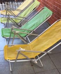 Título do anúncio: 4 cadeiras de praia