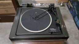 Toca-discos Gradiente System 106 Funcionando Com Pré-amp
