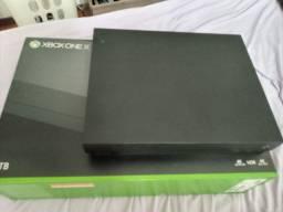 Xbox one x semi novo