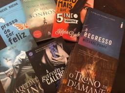 7 livros em perfeito estado por 14 reais (ver descrição)