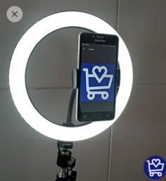 Ring light com tripe 2M- faço entrega