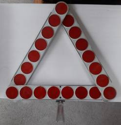 Triângulo carros antigos marca polimatic.