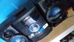 Aparelho de som Philips com controle