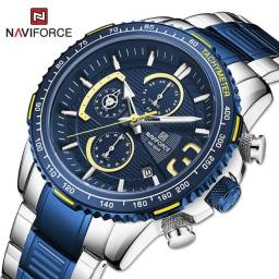 Título do anúncio: Relógio Masculino Naviforce Cronógrafo Original