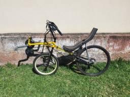 Título do anúncio: Bicicleta reclinada