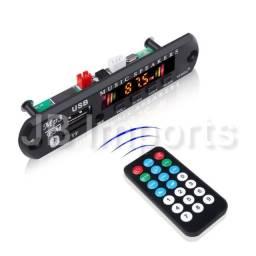 Placa Decodificadora 12v Mp3 Exclusiva/Auxiliar/Bluetooth/Passa Por Pastas