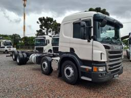 Scania p 310 8x2 no chassi ano 2014