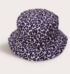 Bucket leopardo dois lados