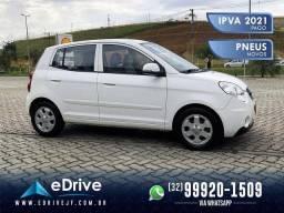 Kia Picanto EX 1.0 Mec. - IPVA 2021 Pago - Completo - Raridade - Financio - 2011