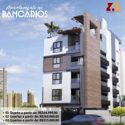 Apartamento no Bancários com 01, 02 e 03 quartos.