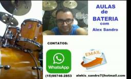 Aulas de Bateria com Alex Sandro