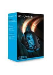 Mouse Gamer Logitech G300s C/ Fio Usb Macro