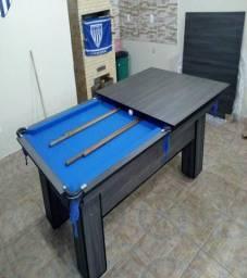 Mesa Charme Cor Dakar Tecido Azul Mod. GXCO1136