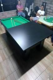 Mesa de Redes Cor Preta Tecido Verde Mod. ZSKC6168