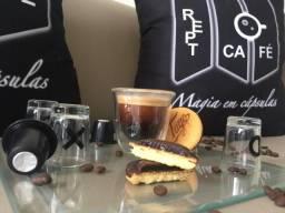 Cápsulas de Café, Cappuccino, Leite e Chás para Nespresso 0,98 a unidade