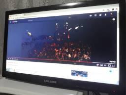 Monitor Samsung led 19 suporte parede
