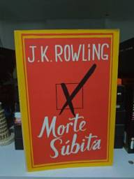Livro Morte Súbita, JK Rowling - R$15,00