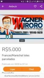 Aceito carro/ Massagueira10x30m