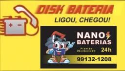 Disk Bateria Automotiva 24 horas - Instalamos onde você estiver!!!