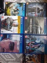 7 jogos de PS4 por 150 cada